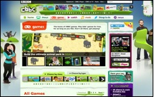 Click for CBBC Games