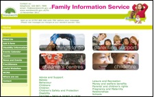 click for family information service